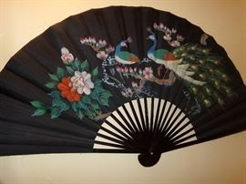 Large Fan Decor Item