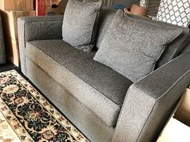 Arhaus chair and a half and a pull out sleeper