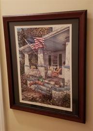 "William Mangum ""American Way"" Framed Print"
