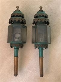 Antique Italian Carriage Lanterns