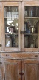 antiquepine kitchen cuboard