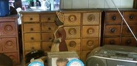 antique spice cuoboards