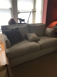 Crate and Barrel Loveseat $300