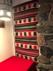 "Navajo Woven Rug By Louis Redman 2'4"" x 4'3"""