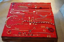 Some of the jewelry.