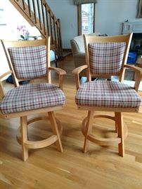 $75 each Perfect and clean bar stools
