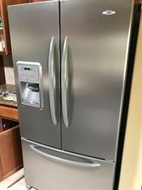 Nice Almost New Stainless Refrigerator