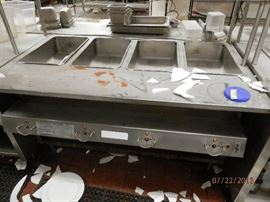 Steam table with individual controls      CALL NOW (760) 975-5483     (760) 445-8571     (760) 445-8571...***********$150************