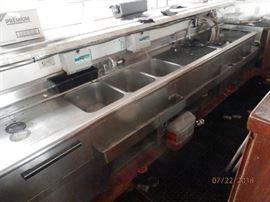 *****2**** identical bar serving sink set ups  with multiple flavor carbonators   CALL NOW (760) 975-5483      (760) 445-8571    Bargain priced at Bar sinks sets*****300 each********  Carbonators****$100