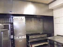2 stack cook and hold oven ******$250******   U.S. Range 8 burner gas cook top *******$300*******  Under 16 foot SS Exhaust hood and back wall!   also for sale!  Call Now (760) 445-8571  (760) 975-5483