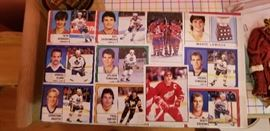 4. Hockey trading cards