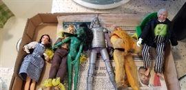 7. Vintage Wizard of Oz Toys