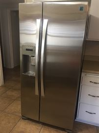 Kenmore Elite stainless refrigerator- clean in like new condition.