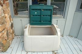 Second outdoor storage bin