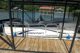 Starcraft Classic 180 pontoon boat.  Well maintained, was operated last summer.  There is a trailer available as well!
