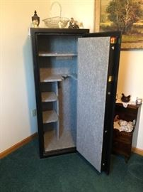 Like new stand up Safe with combination.