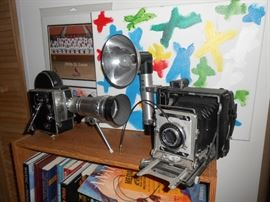 VINTAGE BOLEX PAILLARD movie camera with lens