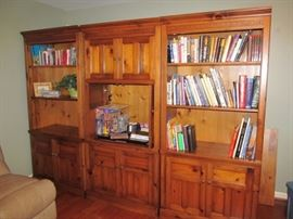 3 piece bookcases and cabinets
