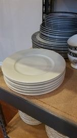 6 gorgeous china dessert plates by Silesia