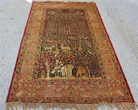 Antique and Finely Hand Woven Tree Of Life