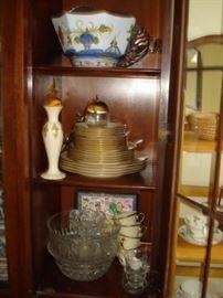 Lenox  china, glass ware