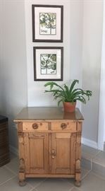 Gorgeous antique pine chest.