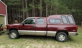 Z71 Pick-Up with cover