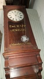 Great selection of clocks. Ewd. Rapp Jeweler