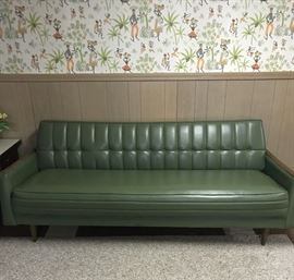 Carters Of Carolina Mid-Century Futon Sofa
