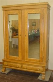 Empire Oak Double Door Knock Down Wardrobe