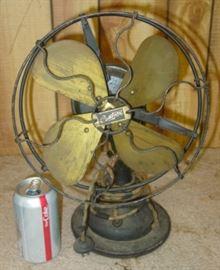 Century Brass Blade Electric Fan