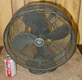 "Emerson 12"" Electric Fan w/Safety Cage"
