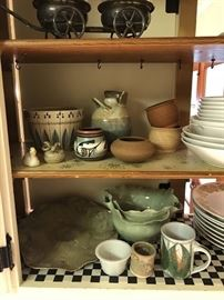 Some Pottery
