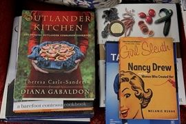 Outlander Kitchen cookbook...  lots and lots of books in this sale