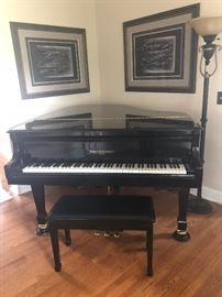 Kohler and Campbell Black Piano