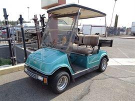 1991 Yamaha G8AG Golfcart    VIN-JF2102183