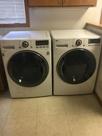 LG Washing Machine and LG Gas Dryer