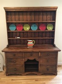 English Country Dresser C. 1870