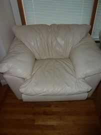 Sealy Leather Chair