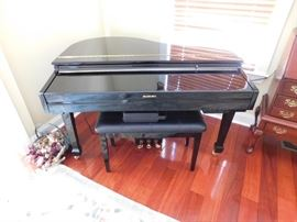 electronic baby grand piano