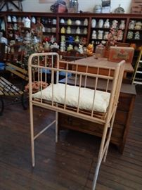 Iron Baby Bed from old hospital