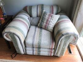 Overstuffed Chair $ 80.00