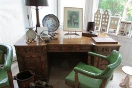 The perfect desk for your home office. OK the chair is great too. It's  Vintage Romweber