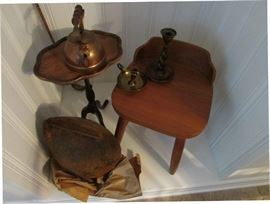 Large Cow Bell, Milking stool & more