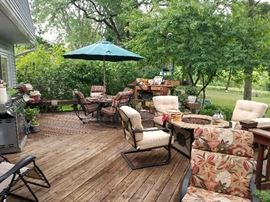 Beautiful Overview of patio items