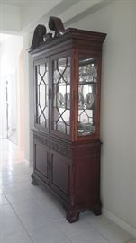American Drew style china hutch absolutely magnificent piece of craftsmanship!
