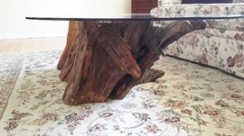 Amazing driftwood coffee table