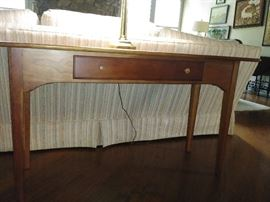 Solid wood sofa table, high quality piece.