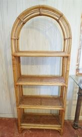 Bamboo Arch Shelf