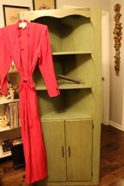 Green color cabinet